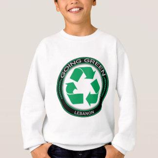 リサイクルレバノン スウェットシャツ