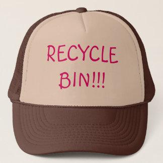 リサイクル大箱のトラック運転手の帽子 キャップ