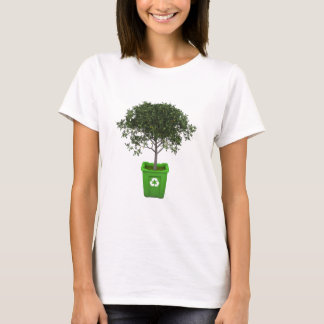リサイクル大箱の木 Tシャツ