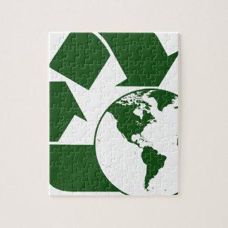 リサイクル ジグソーパズル