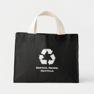 リサイクル ミニトートバッグ