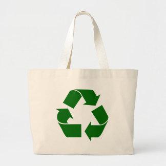 リサイクル ラージトートバッグ
