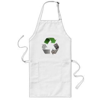 リサイクル ロングエプロン
