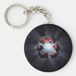 リサイクル(宇宙) キーホルダー