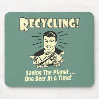 リサイクル: 惑星を救うこと マウスパッド