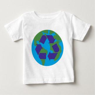 リサイクルColor.png ベビーTシャツ