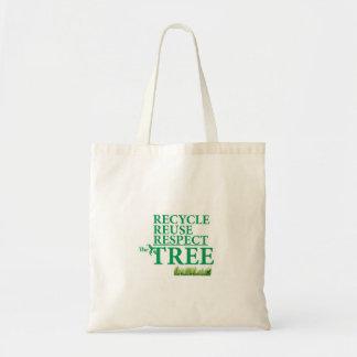 リサイクルRESUSEの点木 トートバッグ