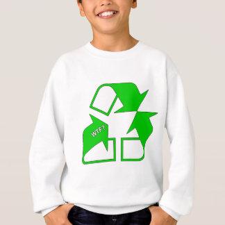 リサイクルWTFか。 スウェットシャツ
