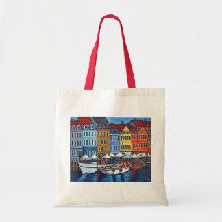 リサロレンツ著Nyhavnの色 トートバッグ