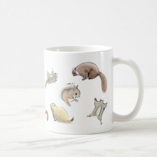 リスいっぱいマグカップ コーヒーマグカップ
