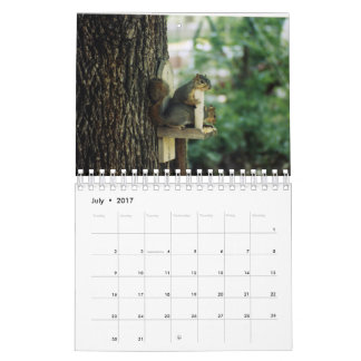 リスのカレンダー カレンダー