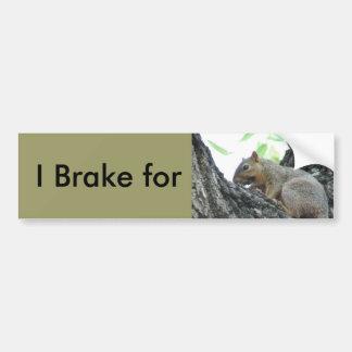 リスのバンパーステッカーのためのブレーキ バンパーステッカー