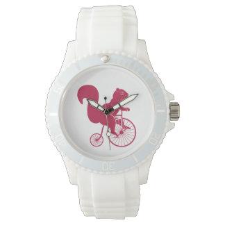 リスの乗馬のペニーのFarthingのバイク 腕時計