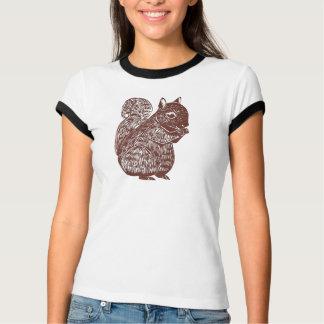 リスの女性信号器のTシャツ Tシャツ