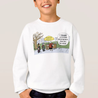 リスの起業家 スウェットシャツ