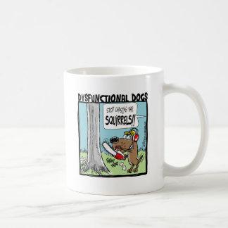 リスを追跡することを止めて下さい! コーヒーマグカップ
