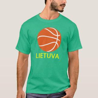 リスアニアのバスケットボール Tシャツ