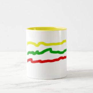 リスアニアのマグ ツートーンマグカップ
