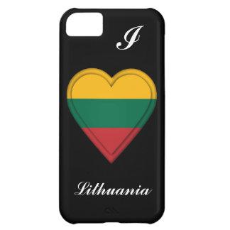 リスアニアのリトアニア人の旗 iPhone5Cケース