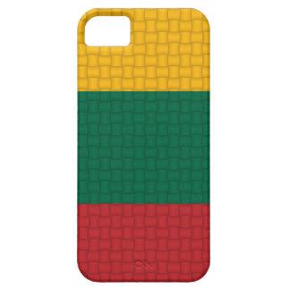 リスアニアのリトアニア人の旗 iPhone SE/5/5s ケース