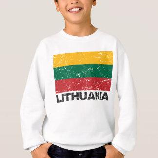 リスアニアのヴィンテージの旗 スウェットシャツ