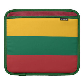リスアニアの人力車のBagworksのiPadの袖の旗 iPadスリーブ