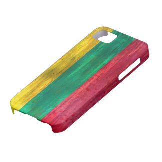 リスアニアの動揺してなリトアニアの旗 iPhone SE/5/5s ケース