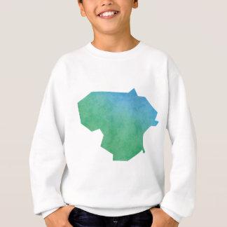 リスアニアの地図 スウェットシャツ