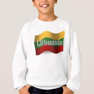 リスアニアの振る旗 スウェットシャツ