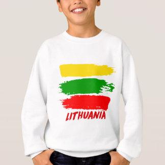 リスアニアの旗のデザイン スウェットシャツ