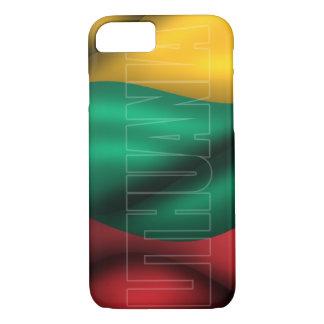 リスアニアの旗のiPhone 7の場合 iPhone 8/7ケース