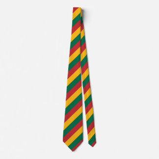リスアニアの旗は着色されたストライプなパターンをインスパイア タイ