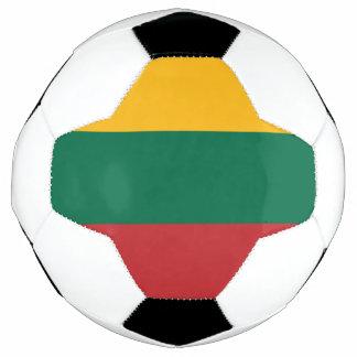 リスアニアの旗 サッカーボール