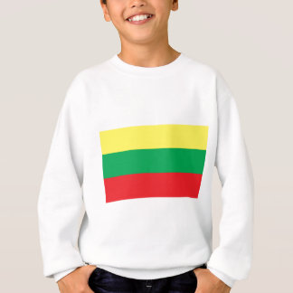 リスアニアの旗 スウェットシャツ