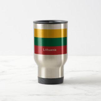 リスアニアの旗 トラベルマグ