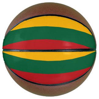 リスアニアの旗 バスケットボール