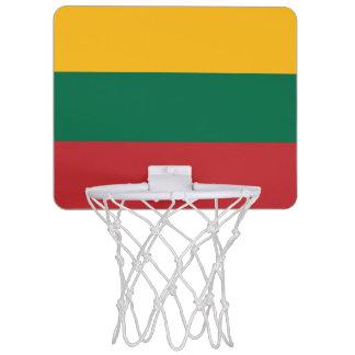 リスアニアの旗 ミニバスケットボールゴール