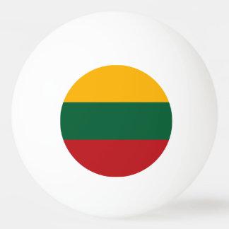 リスアニアの旗 卓球ボール