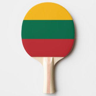 リスアニアの旗 卓球ラケット