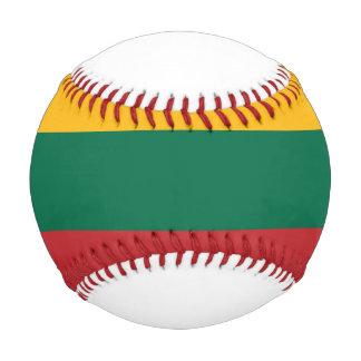 リスアニアの旗 野球ボール
