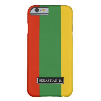 リスアニアの旗 BARELY THERE iPhone 6 ケース