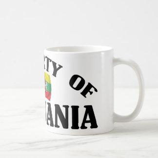 リスアニアの特性 コーヒーマグカップ