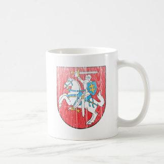 リスアニアの紋章付き外衣 コーヒーマグカップ