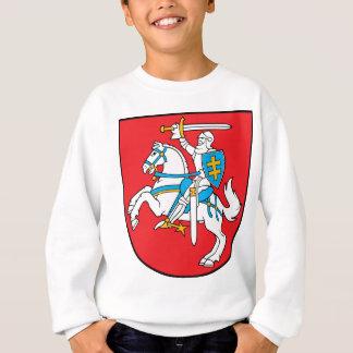 リスアニアの紋章付き外衣 スウェットシャツ