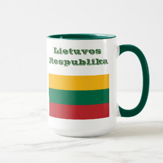 リスアニアマグ/Lietuvaのpuodelis マグカップ
