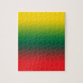 リスアニア色の勾配の旗 ジグソーパズル