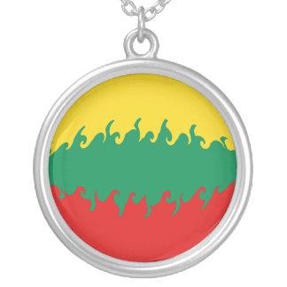 リスアニア|すごい|旗 オリジナルネックレス