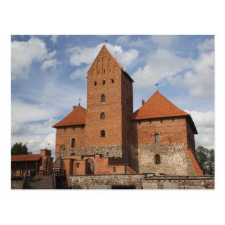 リスアニア、TrakaiのTrakaiの歴史的国民3 ポストカード