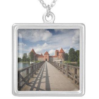 リスアニア、TrakaiのTrakaiの歴史的国民 シルバープレートネックレス