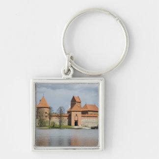リスアニア、Trakai。 島の城2 キーホルダー